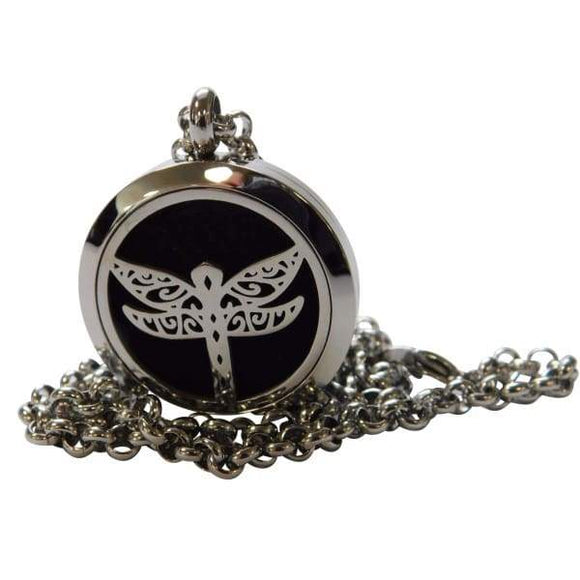 Dragonfly Aromatherapy Diffuser Necklace - Instant Essentials