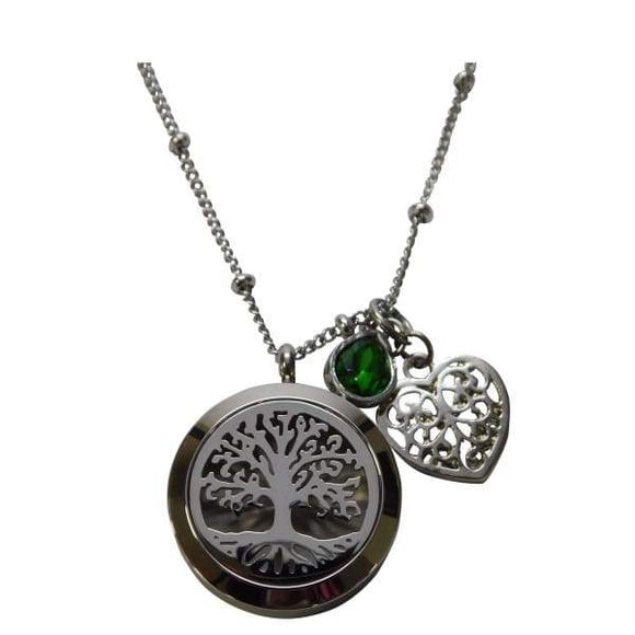 Family Tree Aromatherapy Necklace - Instant Essentials