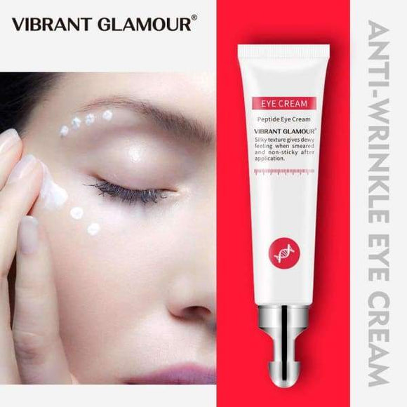 GLAMOUR Eye Cream Peptide Collagen Serum Anti-Wrinkle - Instant Essentials