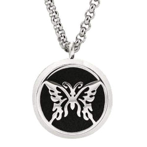 Hope Butterfly Aromatherapy Diffuser Necklace - Instant Essentials