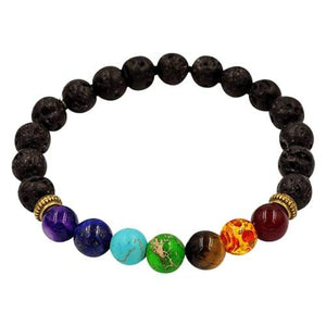 Lava Rock Beads Essential Oil Bracelet - 4 Pack - BOGO Special - Instant Essentials