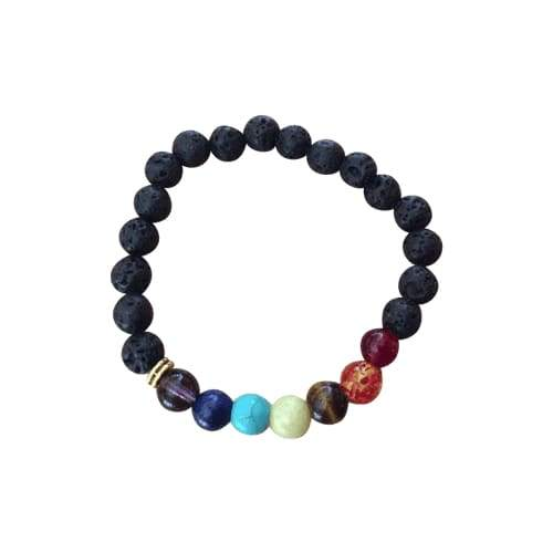 Lava Rock Beads Essential Oil Bracelet - Two Pack - Instant Essentials