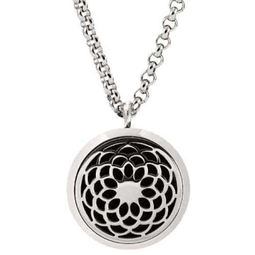 Lotus Flower Aromatherapy Diffuser Necklace - Instant Essentials
