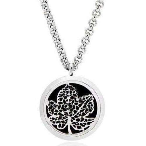 Maple Leaf Aromatherapy Diffuser Necklace - Instant Essentials