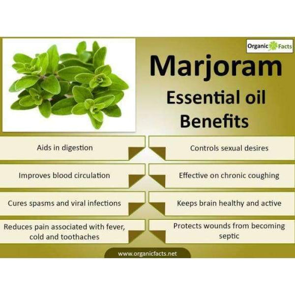 Marjoram 100% Pure Essential Oil - Instant Essentials