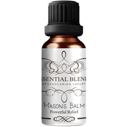 Mason's Balm - Pain-Anxiety Powerful Relief Artisanal Essential Oil Blend - Instant Essentials