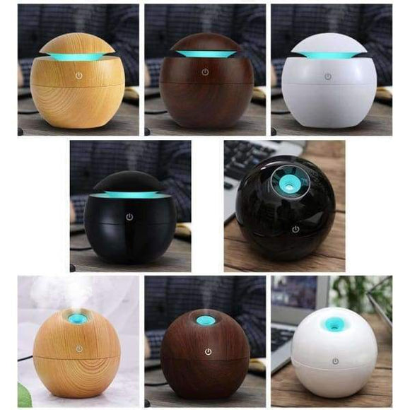 Mini Wooden Aromatherapy Humidifier Aroma Diffuser - Instant Essentials