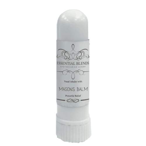 Pre-Loaded Inhaler - Mason's Balm -Pain Powerful Relief - Instant Essentials