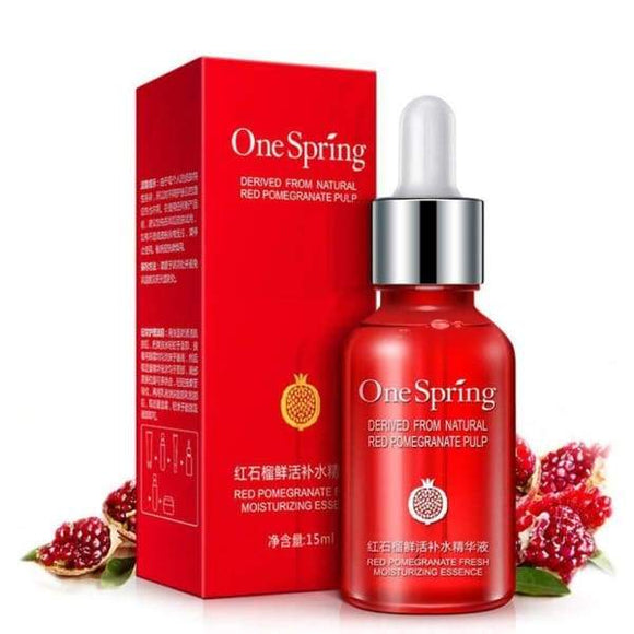 Red pomegranate Facial Essence Toner Moisturizing - Instant Essentials