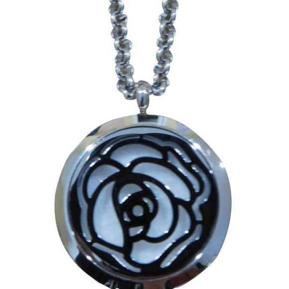 Rose Aromatherapy Diffuser Necklace - Instant Essentials