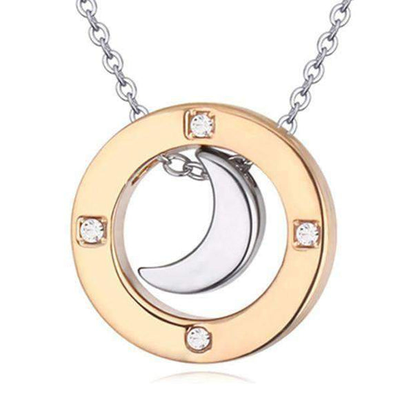 Special Silver Moon Pendant - Instant Essentials