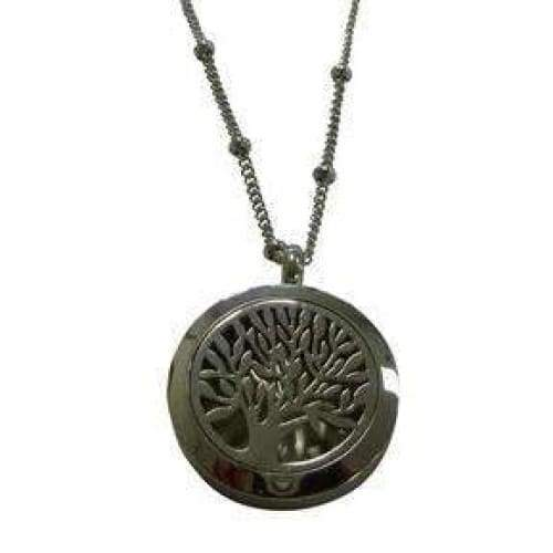 Tree of Life Pendant Diffuser Necklace (25mm) - Instant Essentials