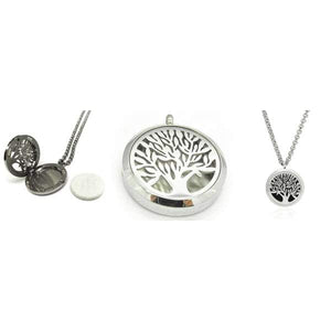Tree of Life Pendant Diffuser Necklace (30mm) - Instant Essentials