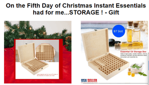 Twelve Days Of Christmas - Day 5 - Free Gift - Instant Essentials