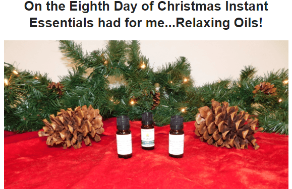 Twelve Days of Christmas - Day 8 - Free Gift - Instant Essentials