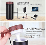 USB Ultrasonic Travel Essential Oil Aroma Diffuser - Instant Essentials