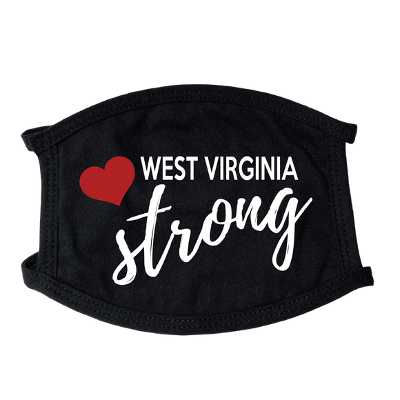West Virginia Strong Face Mask - Instant Essentials