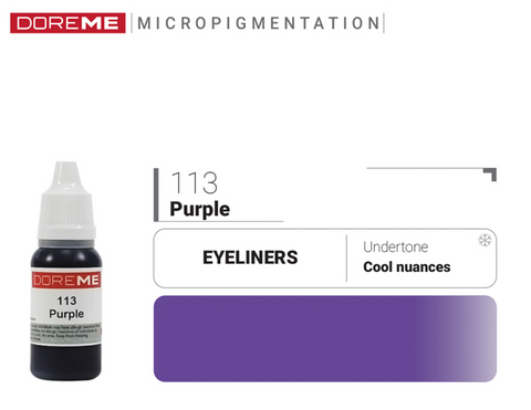 DoreME Eyeliner Purple 113