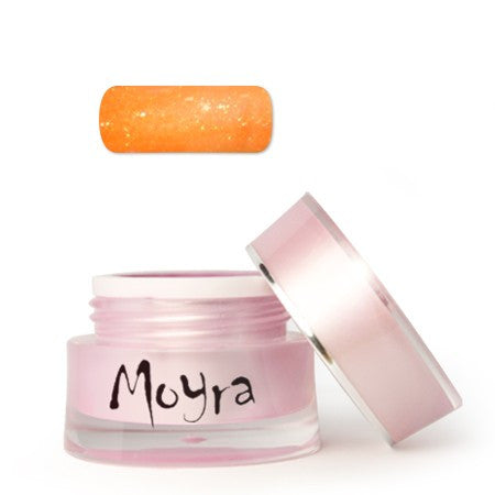 Moyra Color Gel Neon Glitter Orange