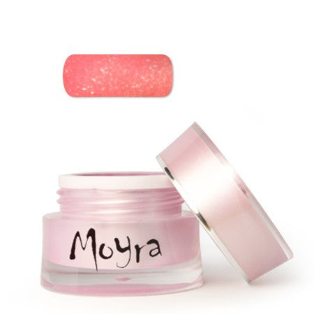 Moyra Color Gel Neon Glitter Red