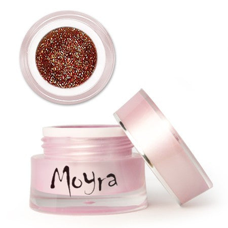 Moyra Colo Gel Glitter Red Gold