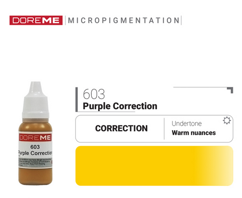 DoreME Purple Correction 603