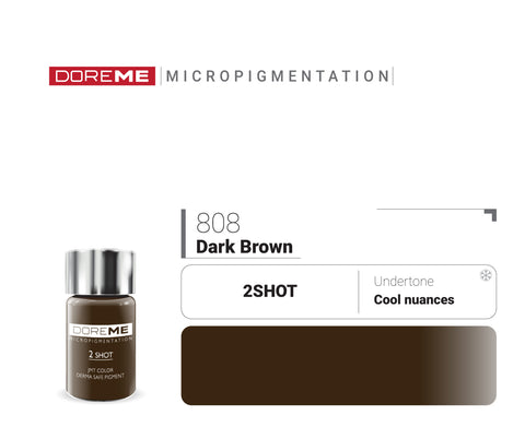 DoreME 2Shot Dark Brown 808