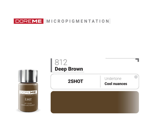DoreME 2Shot Deep Brown 812