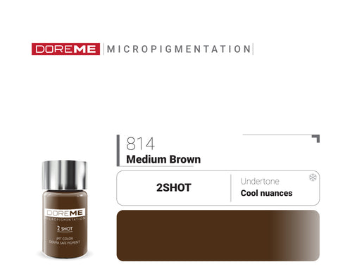 DoreME 2Shot Medium Brown 814