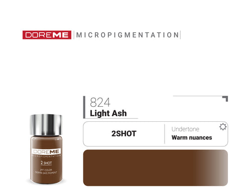 DoreME 2Shot Light Ash 824