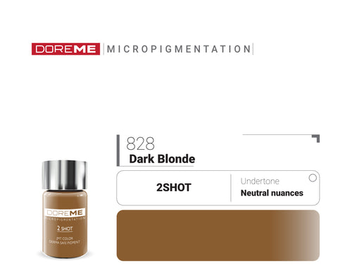 DoreME 2Shot Dark Blonde 828