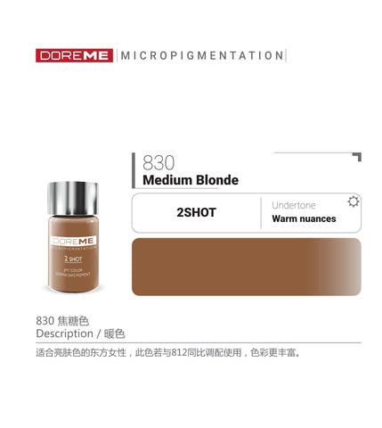 DoreME 2Shot Medium Blonde 830