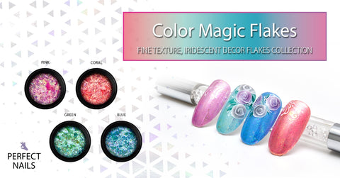 Perfect Nails Color Magic Flakes