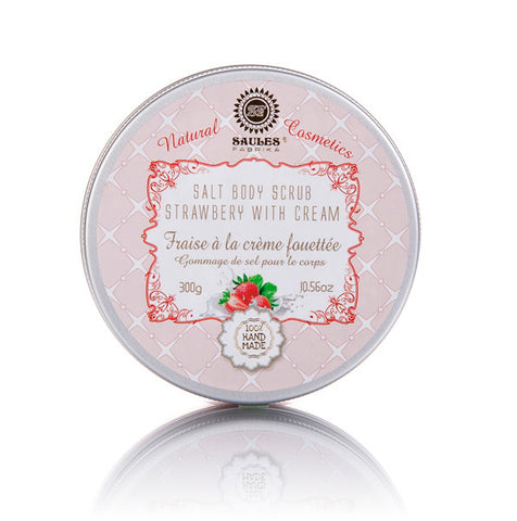 Salt Body Scrub - Strawberry with Cream