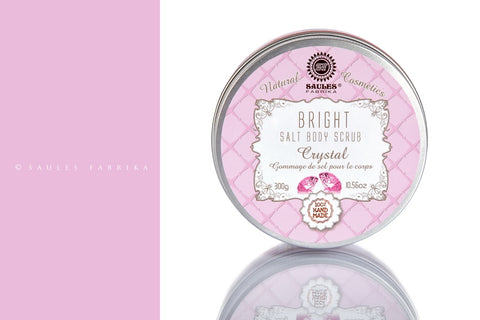 Salt Body Scrub - Bright Crystal