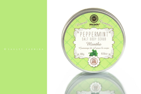 Salt Body Scrub - Peppermint