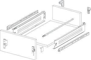 Gallery Rails for Metal Draw Sides