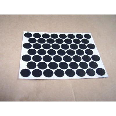 Trim Covers Adhesive 14mm, Black ( sheet) - Fullie Hardware
