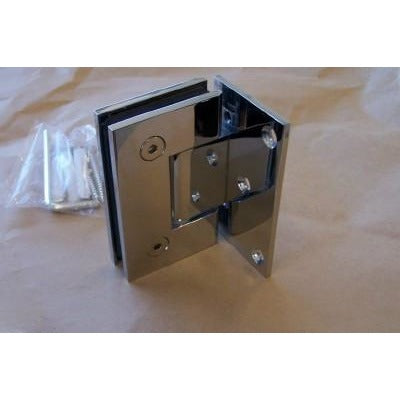 Wall-Mount Shower Door Hinge (single) - Fullie Hardware