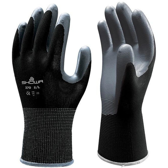 Showa 370 Black Glove - Medium - Fullie Hardware