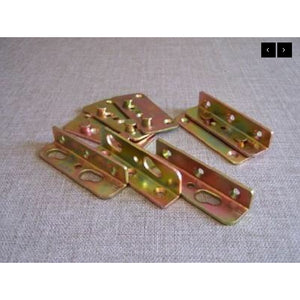 Bed Brackets Large (set) - Fullie Hardware