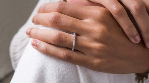 The Bezel Diamond Ring
