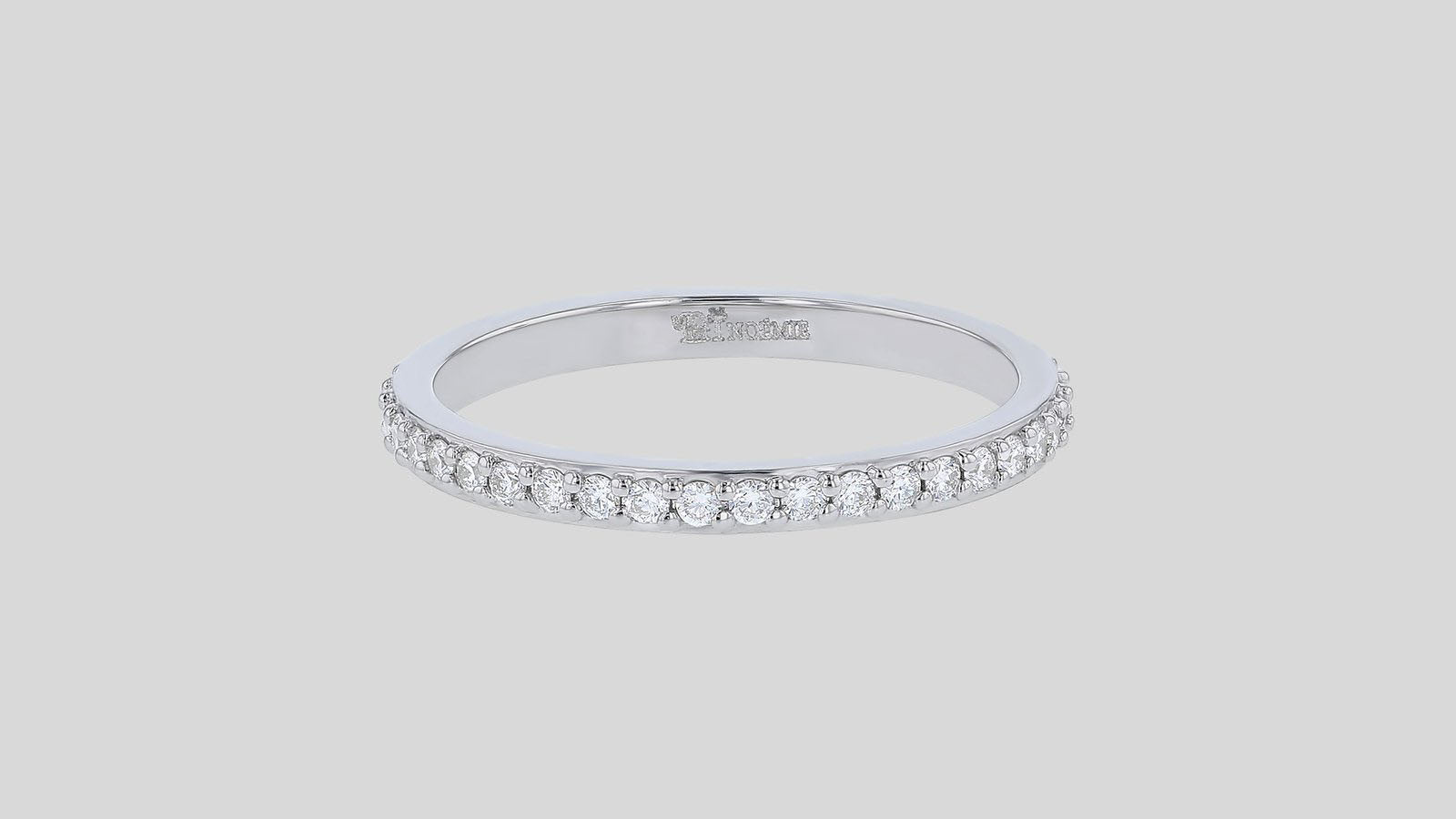 The Diamond Eternity Band Ring