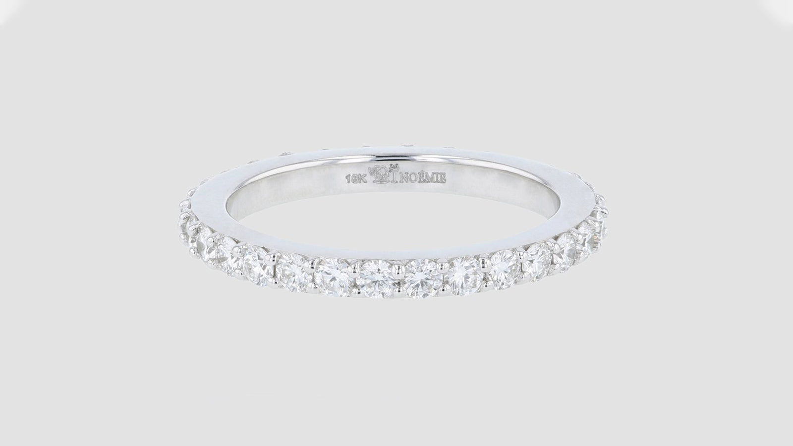 The One Carat Diamond Eternity Band Ring