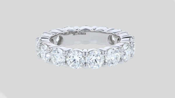 The 5 Carat Diamond Eternity Band Ring
