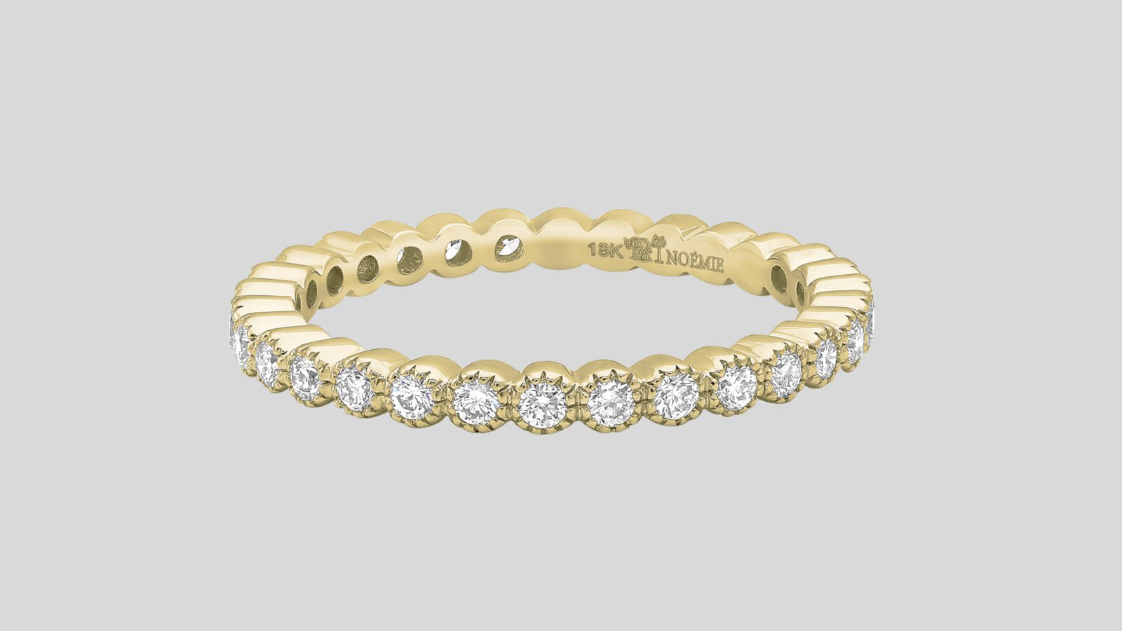 The Bezel Diamond Eternity Ring