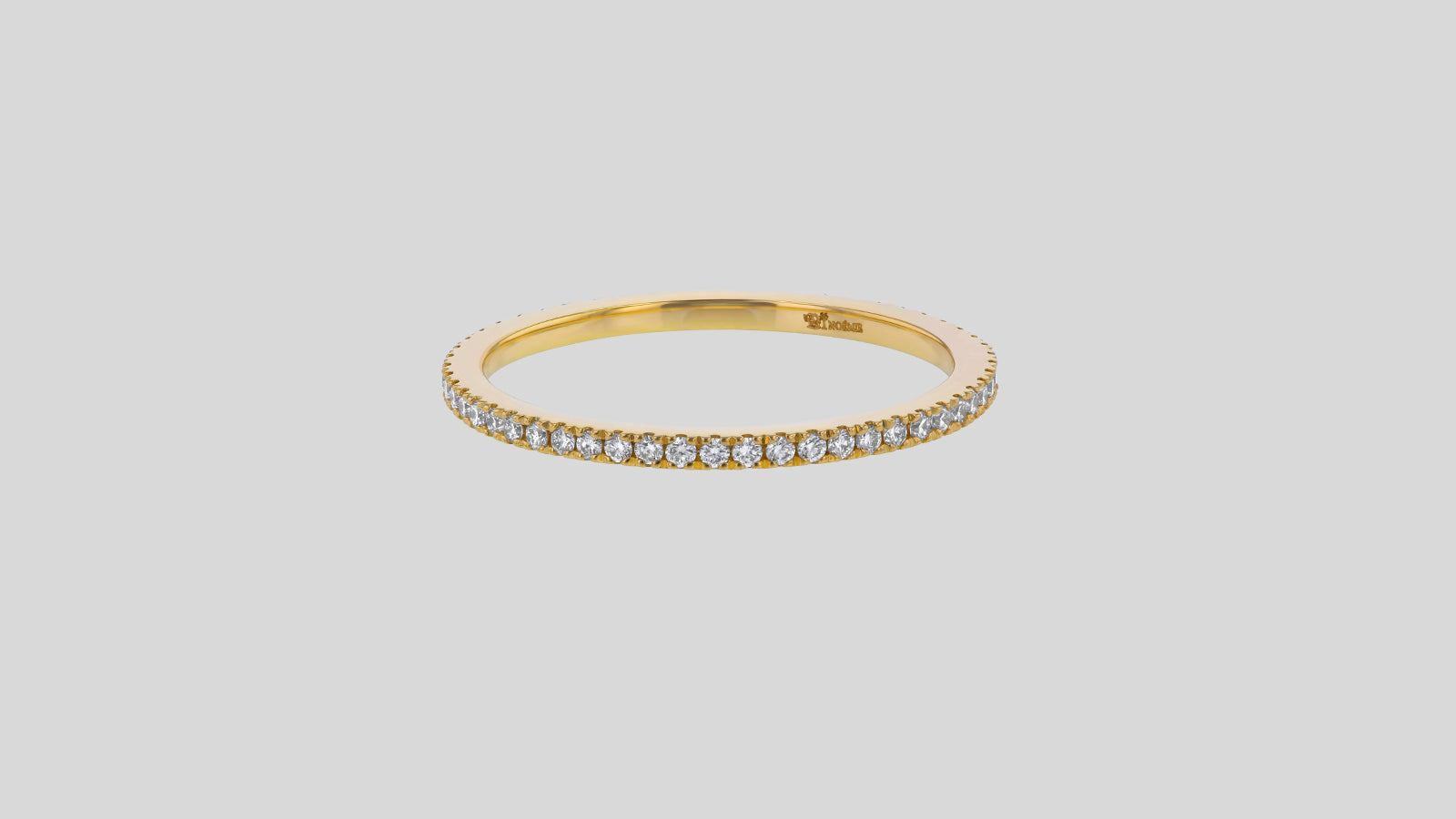 The Eternity Petite Diamond Band Ring