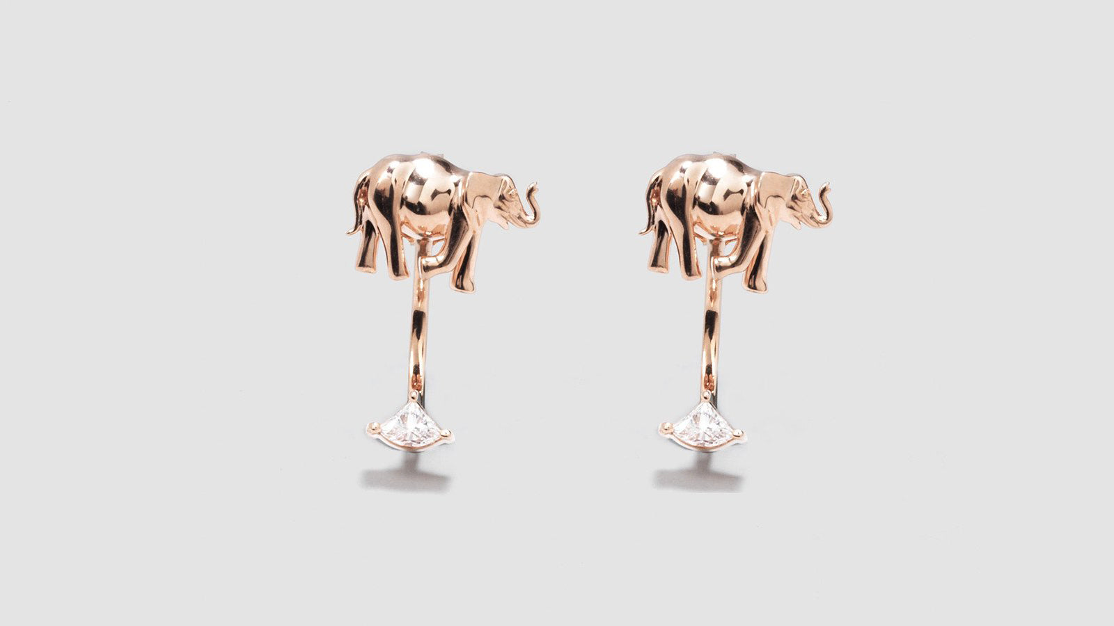 Noémie Elephant Earrings