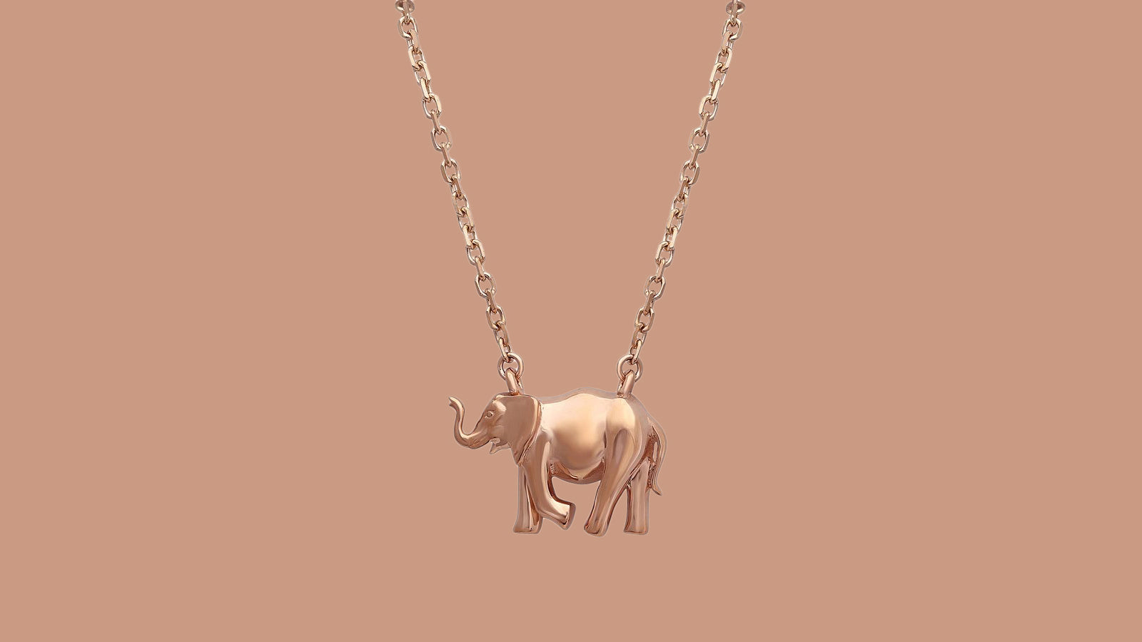 Noémie Elephant Pendant Necklace