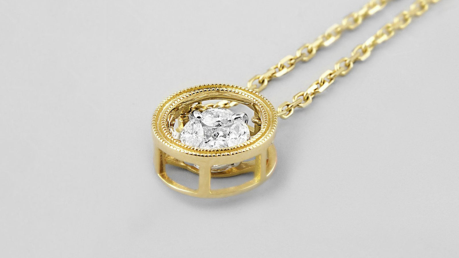 The Rumba Dancing Diamond Necklace